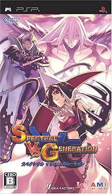 Used PSP Spectral vs. Generation Japan Import