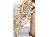 Pakistani Indian Asian unstitched clothes