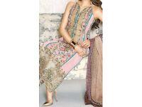 Pakistani Indian Asian Unstitched Clothes