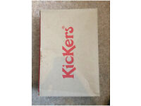 Mens Tovni Kickers Black UK Size 7 Comes Without Laces In good condition