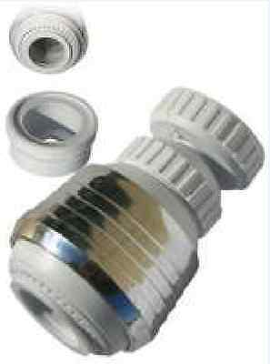 Kitchen Sink Faucet head Aerator SWIVEL Water Spray Stream nozzle  chrome plated
