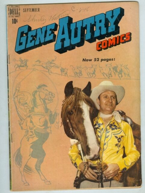 Image result for gene autry comics september
