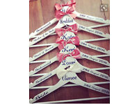 Wedding Hangers Personalised