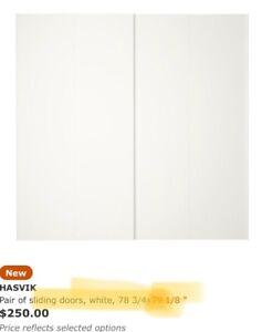 IKEA Pax Hasvik sliding doors