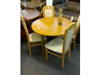 Dinning room table and chairs #32740 £69