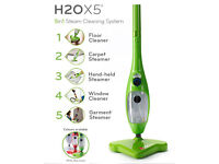 H2O X5 Steam Mop Floor in Green Used in good condition