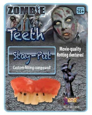 Zombie Rotted Teeth Halloween Costume Accessories Movie Quality Rotting Dentures (Movie Quality Halloween Costumes)
