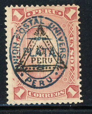 Peru- Scott 78 MH