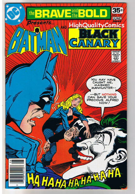 BRAVE and the BOLD #141, FN+, Joker, Black Canary, 1955, more Bronze in store