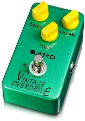 Joyo JF-01 Vintage Overdrive Guitar Effects Pedal - Distortion with True Bypass