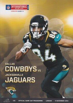 DALLAS COWBOYS v JACKSONVILLE JAGUARS NFL WEMBLEY STADIUM 2014