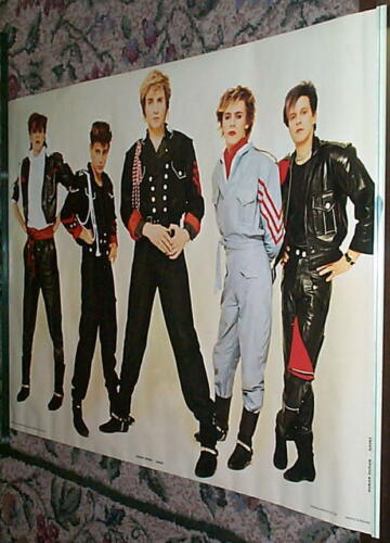 DURAN DURAN Early 80s Group Vintage  Poster in NEW CONDITION