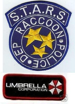 Halloween Kostüm Requisite Set Resident Evil Stars Umbrella Corp Hundemarke ()