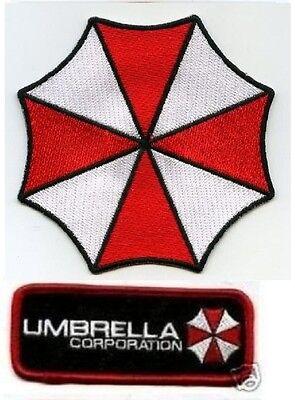 Halloween Kostüm Patch: Resident Evil Stars Umbrella Corp Hundemarke D
