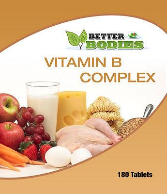 Vitamin B Komplex Tabletten Pack Größen 60 - 360 Tabletten ()