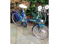 Two vintage shopper bikes