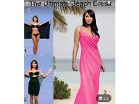 Pink Saress Beach wear brand new