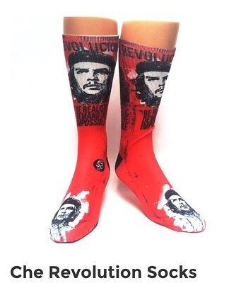 Che Guevara Revolution Novelty Savvy Sox Brand New Straight From Production - Novelty Products