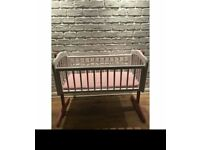 REDUCED!!! Baby pink cot