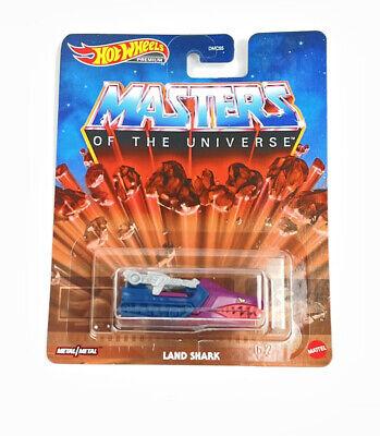 Hot Wheels Masters Of The Universe Land Shark PREMIUM 2020 Metal/Metal NEW MOTU