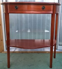 Mahogany table/sideboard table
