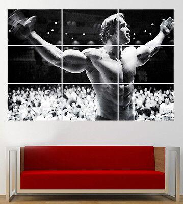 Arnold Schwarzenegger Poster Giant Print Huge 260gsm