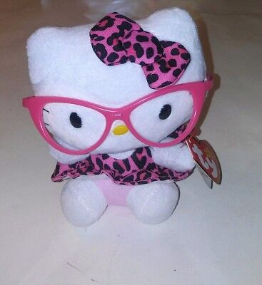 Hello Kitty Plush Nerdy 6