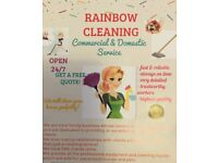 Domestic/ Windows/ Carpets/ End of tenancy/ Deep cleaning/Oven/ Jet wash/Cleaners/Cleaning Services