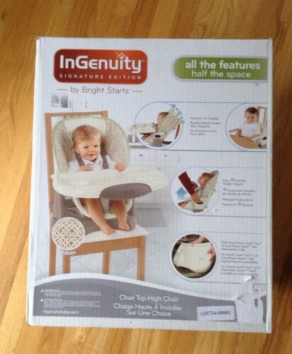Ingenuity Signature Edition Chair Top High Chair Shiloh by B