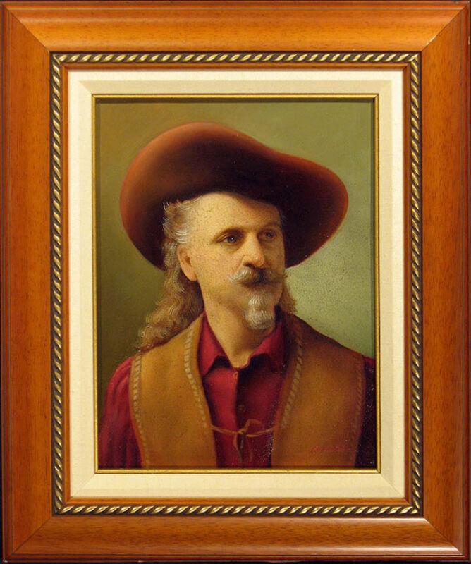 "Gerardo Caballero ""buffalo Bill"" Original Oil Painting On Canvas, Make An Offer!"