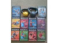 Full Kettleworx Workout dvd set