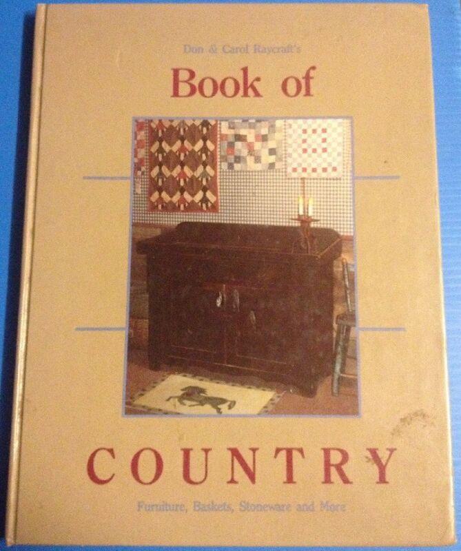 BOOK OF COUNTRY Don & Carol Raycraft