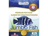 NorthFin Premium Fish Food - Jumbo Formula
