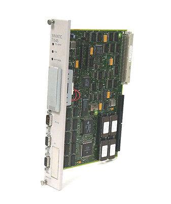 Used Siemens 545-1101 Cpu Module 5451101