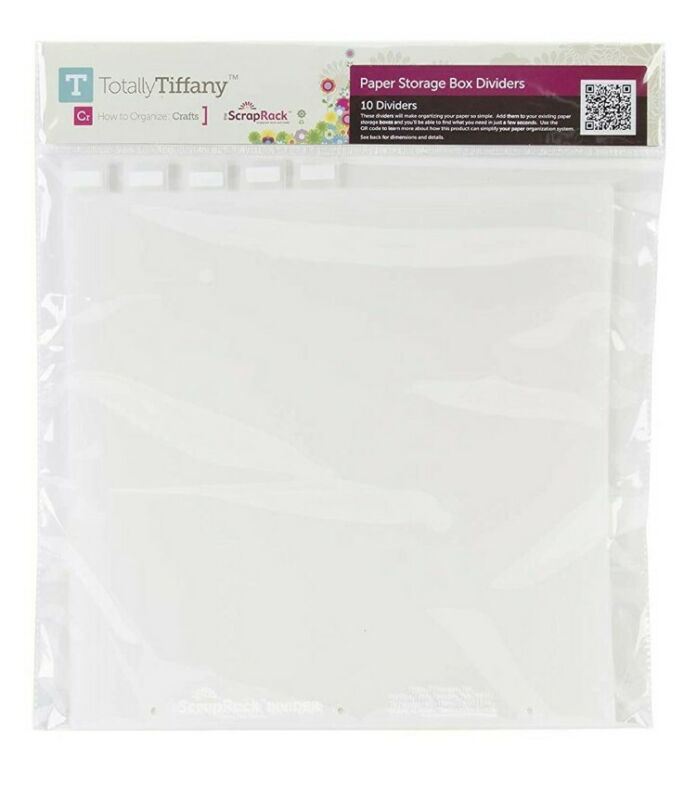 Totally Tiffany (Paper Junkie) - A06 Paper Storage Box Dividers - 10 per pack