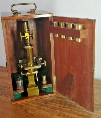 (#11): E.Leitz-Wetzlar Antique Microscope No.30417