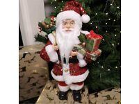 40cm luxury sequin Santa £14