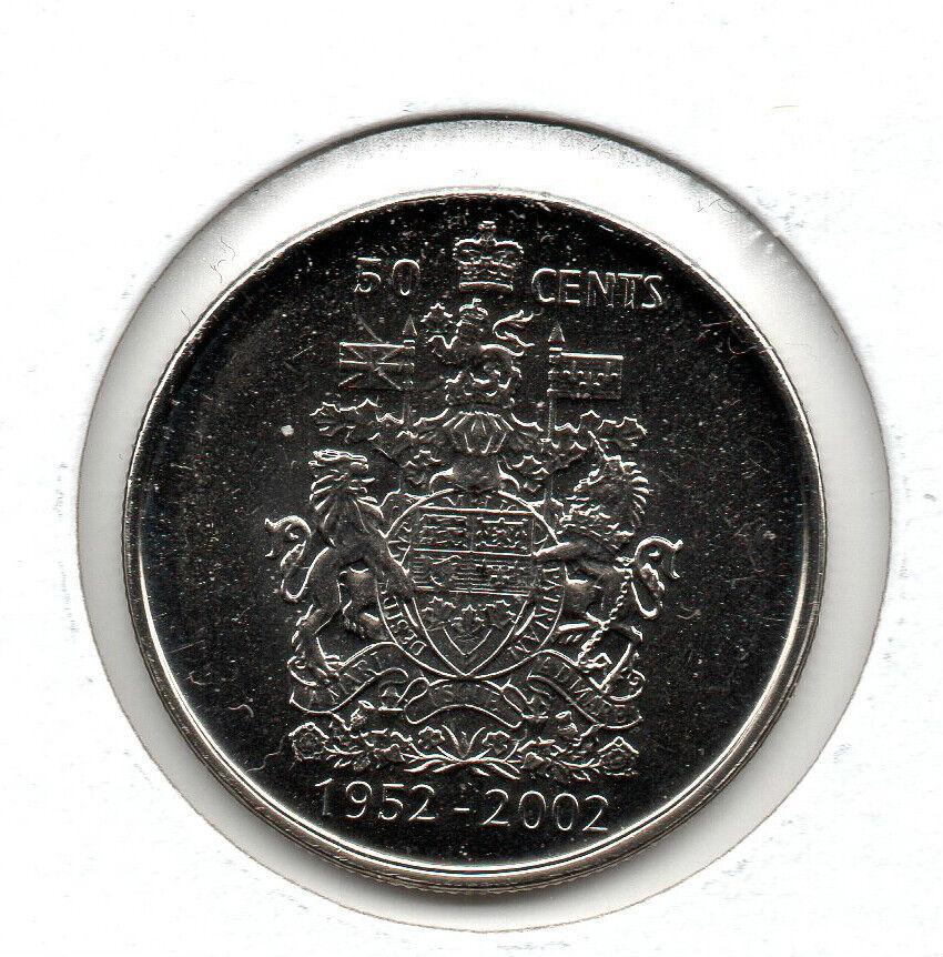 2002 uncirculated Canadian Half Dollar
