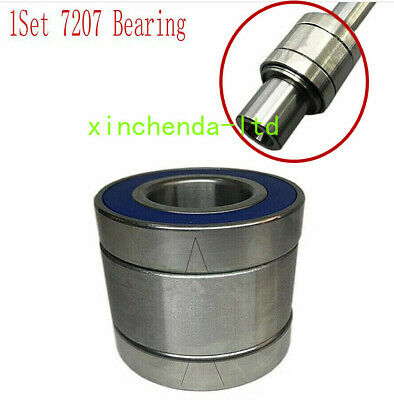 Milling Machines Parts R8 Spindle with Bearings Assembly 545MM Spindle Length US