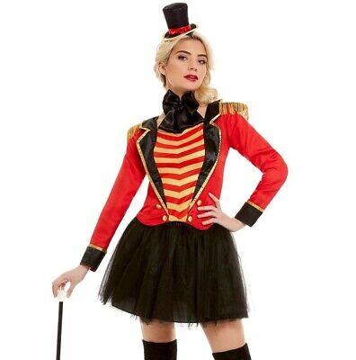 Damen Deluxe Zirkusdirektor Dame Kostüm Showman Outfit von - Damen Zirkusdirektor Kostüm