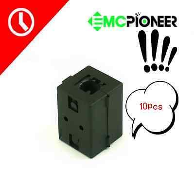 10pcs Ferrite Core Bead Ring Emi Rf Noise Filter Audio Power Cord Cable Choke