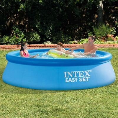 NEW Intex Swimming Pool Above Ground Backyard Summer 10 ft W x 30 Inch