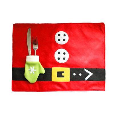 Tovaglietta americana colazione pranzo cena tappetino NATALE tasca porta posate