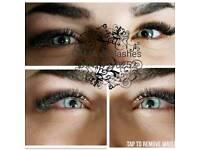 Uv gel nails and eyelashes exstension