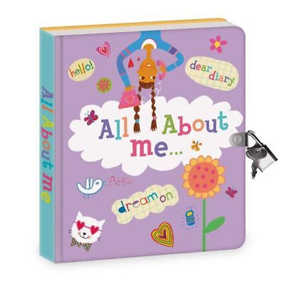 Best Secret Diary For Girls Kids With Lock And Key All About Me Journal