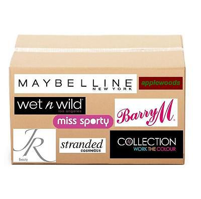 50 makeup cosmetics wholesale joblot party bag wedding favor gift maybelline new