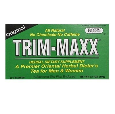 - Body Breakthrough Trim Maxx Original Flavor Trim-maxx Herbal Dieters Tea 30 Bags
