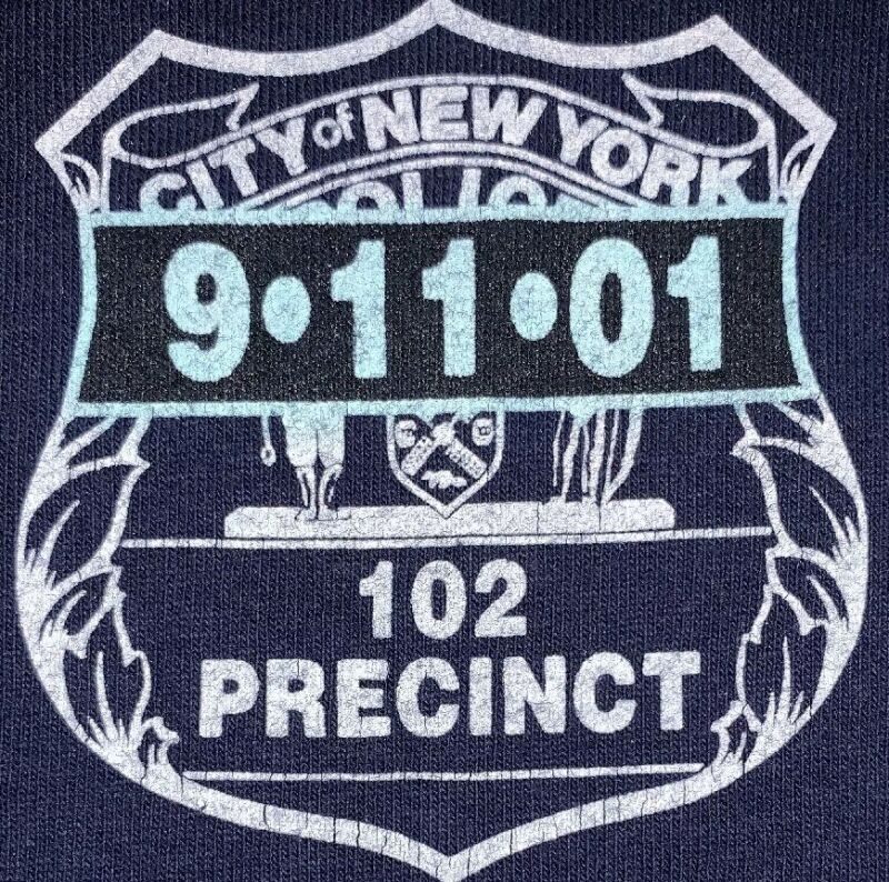 NYPD New York City Police Department NYC T-Shirt Sz 2XL 102 Pct Queens