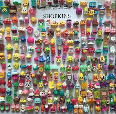 10PCS Lot 2016 Random Shopkins of Season 1 2 3 4 5 Loose Toys Action Figure