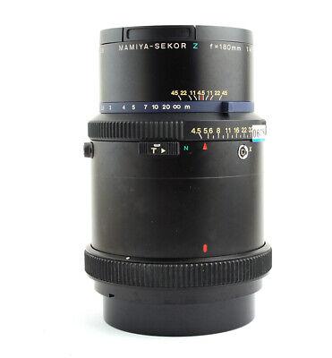 Mamiya SEKOR Z 180mm f/4.5 W-N Telephoto Lens RZ67 Pro II